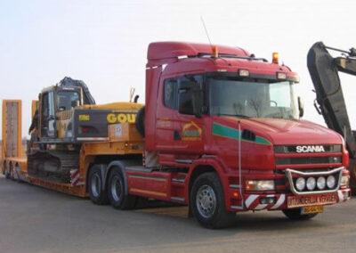 Dieplader Scania 420